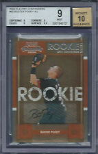 Buster Posey Giants 2008 Playoff Contenders #63 Rookie Card rC BGS 9 w/ 10 Auto