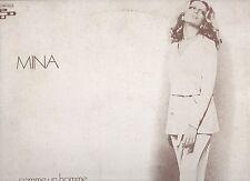 MINA canta in FRANCESE raro disco LP 33 giri STAMPA FRANCESE