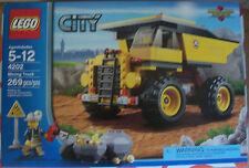 LEGO 4202 City Mining Truck 269 Pcs Ages 5-12 New Sealed Box