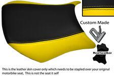 YELLOW & BLACK CUSTOM FITS KAWASAKI NINJA ZX6R 05-06 600 FRONT SEAT COVER