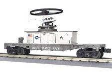 2012 MTH 30-79339 Flat Car w/Operating Helicopter  U.S. Navy mint