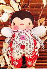 PATTERN - Baby Bug - cute little ladybird cloth doll PATTERN - Annie Smith