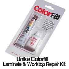 Laminate Flooring & Worktop Joint Sealant REPAIR KIT OAK, BLACK, WHITE Colorfill