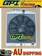 28MM IN/OUT Aluminum Radiator 92-00 Honda Civic EK EG D15 D16 B16 B18 & FAN