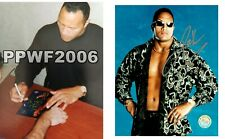 WWE THE ROCK HAND SIGNED AUTOGRAPHED 8X10 LICENSED PHOTO WITH COA VERY RARE 9