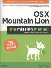 OS X Mountain Lion: The Missing Manual (Missing Manuals) Pogue, David Paperback
