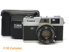 CANON CANONET QL19 35MM FILM CAMERA- NEW SEALS 45MM F1.9 LENS