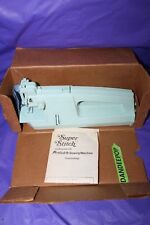 Super Stitch Cordless Electric Portable Sewing Machine 1978 With Box