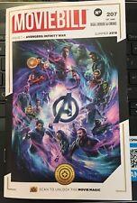 Moviebill Movie Bill Issue 1 - Avengers Infinity War #207/1440 Summer 2018 Regal