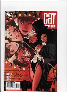 Catwoman # 58 Zatanna Adam Hughes Cover N mint 1st print
