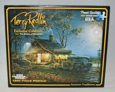 """White Mountain Puzzles """"Autumn Traditions"""" by Terry Redlin 1000pc Jigsaw Puzzle"""