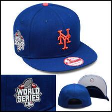 New Era Nuevo York Mets Gorra Snapback 2015 Mundo Serie Parche Lateral MLB a6e2da8cc16
