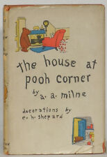 A.A. Milne House at Pooh Corner 1928 American first edition E.P. Dutton w/jacket