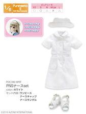 Azone Pureneemo PNS Nurse Set White 1/6 Obitsu Momoko Doll Blythe Pullip