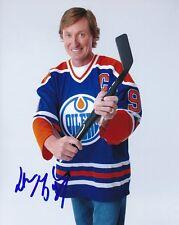 WAYNE GRETZKY signed autographed NHL EDMONTON OILERS photo
