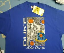 New Vintage 90s mens XXL Duke Blue Devils 1991 CHAMPIONS Shirt NOS grant hill
