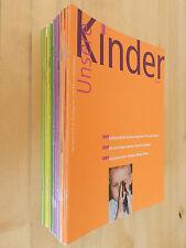 19 x Unsere Kinder Zeitschrift für Kindergarten und Kleinkinderpädagogik