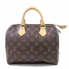 Auténtico Louis Vuitton Bolso de Mano Speedy 25 M41528 Marrón Monograma 181978