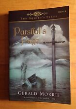 """Parsifal's Page by Gerald Morris Paperback Book 4  """"Arthurian fans will hooked"""""""