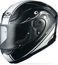 Kabuto FF-5V WORKS, Large L, Black, Motorcycle Full Face Street Helmet NEW