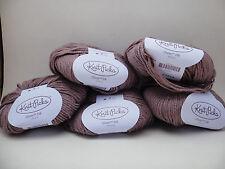 Knit Picks Yarn Gloss DK, Velveteen 5 Skeins Same Lot, 123yd/50g Ea, Merino Silk