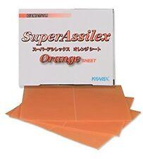 Kovax Gelson fogli abrasivi 130x170 mm Super Assilex Orange P1200 auto 25 pezzi