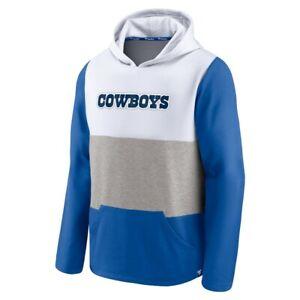 Fanatics Men's Dallas Cowboys Throwback Lightweight Hoodie Sweatshirt Large L