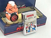 ZIPPO Popeye Rarität Set mit Uhr Feuerzeug neu & ovp - Limited Edition