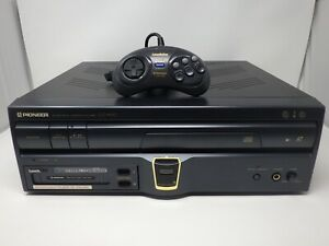 Pioneer LaserDisc Player CLD-A100 With Sega PAC S10 Sega CD & CPD-S1 Controller