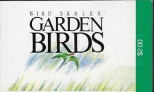 SINGAPORE BOOKLET :1991 Garden Birds  complete SGSB10  MNH