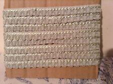 Vintage French Passementerie Braid Trim Trimming ~ 2m - NOS