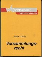 Stefan Zeitler - Versammlungsrecht