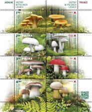 Poland / Polen 2014 - Mi MS 231** Mushrooms of the Polish woods