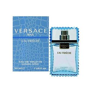 Versace Man Eau Fraiche 1.0 oz / 30 mL Eau de Toilette Spray - New In Box