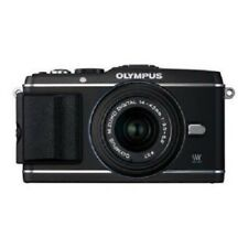 USED Olympus E-P3 12.3 MP with 14-42mm Black Excellent FREE SHIPPING