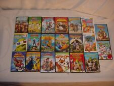 20 Disney Pixar Dreamworks Kids Dvd Movie Lot Shrek Madagascar