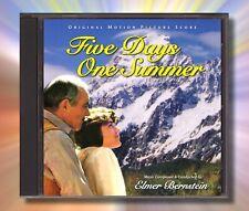 FIVE DAYS ONE SUMMER Elmer Bernstein RARE FILM SCORE