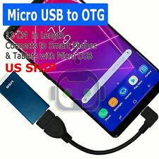Durable Micro 90º USB OTG Host Cable Adapter Male 2.0 Female For Android Tablet