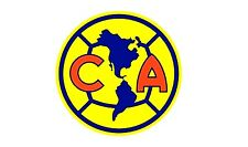 Club America Vinyl DieCut Sticker Decal Logo Soccer Liga MX Mexico 4 Stickers