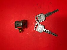 1999-2004 CHEVY TRACKER FL DRIVER DOOR LOCK CYILNDER WITH 2 KEYS USED OEM!