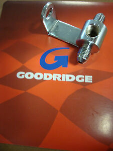 GOODRIDGE BRAKE LINE TEE SHORT AN-3 BRAKE LIGHT SWITCH BIG DOG HARLEY AIH