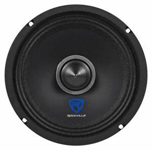 "Rockville RXM64 6"" 150w 4 Ohm Mid-Bass Driver Car Audio Speaker"