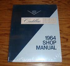 1964 Cadillac Shop Service Manual 64