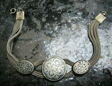 niello art armband silber 800 19 cm 18g um 1920 mit dem zauber vergangener zeit