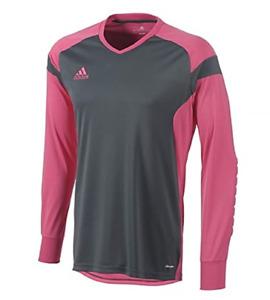 Adidas Men's Precio 14 Goalkeeper Jersey Shirt Pink/Grey Size Small NWOT