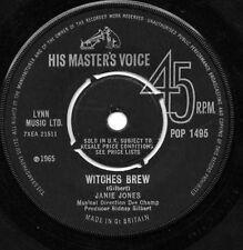 JANIE JONES WITCHES BREW UK VINYL 45 ON HMV 1965