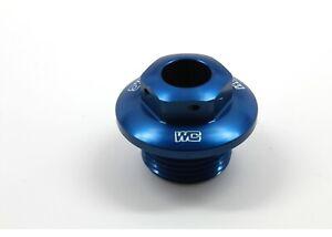 Works Connection Steering Stem Nut Blue Husqvarna TC250 TE250 TE449 FC250 FC450