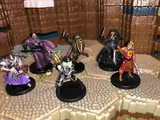 Dungeons & Dragons Miniatures Lot Player Character Epic Party Adventurers #2