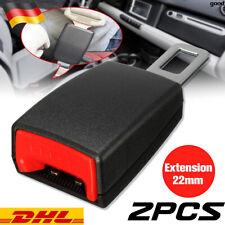 2PCS Auto Sicherheit Sitzgurt Extender Verlängerung Schnalle Lock Clip adjutable