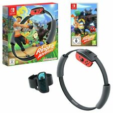 Ring Fit Adventure Nintendo Switch Sealed Ringfit inc Leg Strap & Ring Con